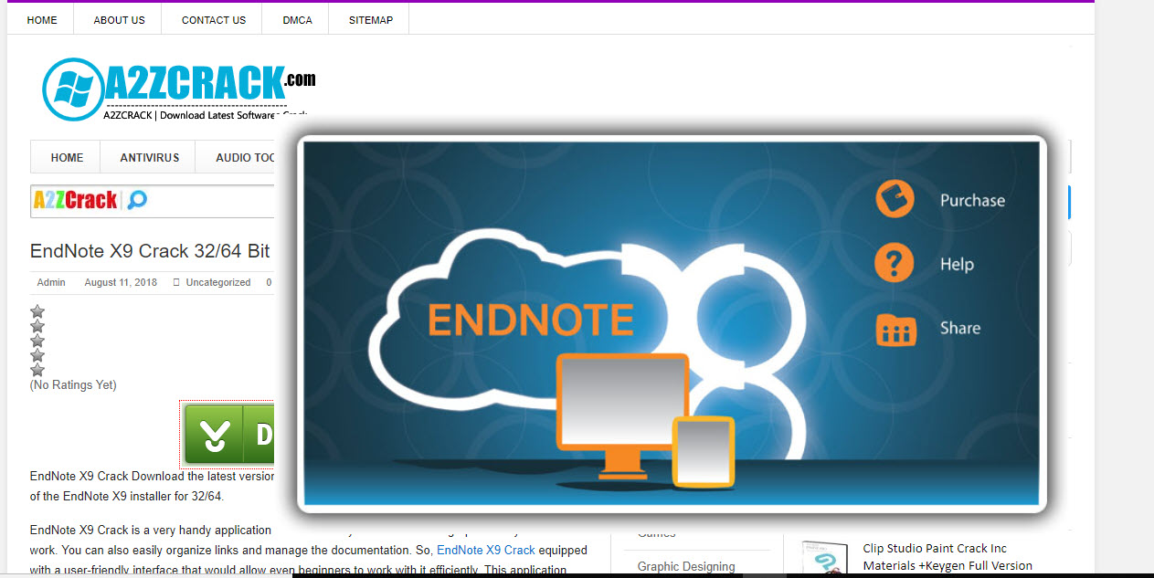 EndNote X9 Crack 32/64 Bit Product Key [Latest] Is Here!