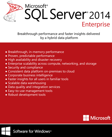 SQL Server 2014 Enterprise Download