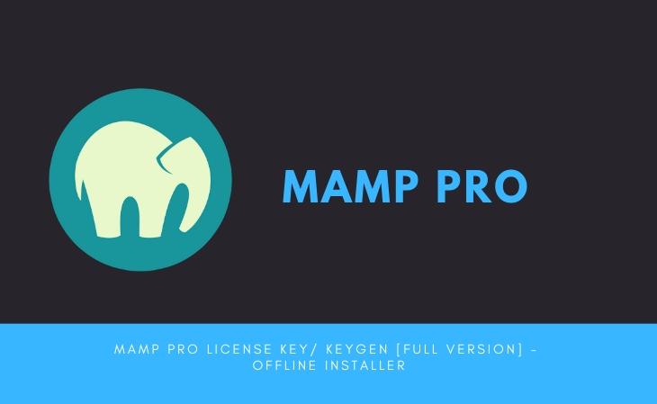 Mamp Pro License key